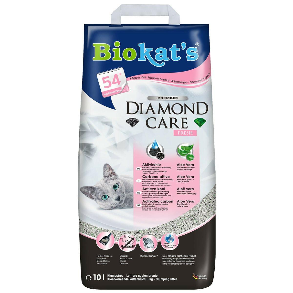 Bild 1 von Biokat's Diamond Care Fresh Katzenstreu