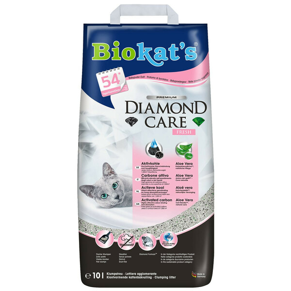 Biokat's Diamond Care Fresh Katzenstreu