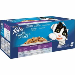Felix So gut wie es aussieht  Fleisch Mix Multipack