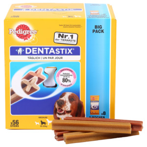 Pedigree DentaStix für mittelgroße Hunde Multipack