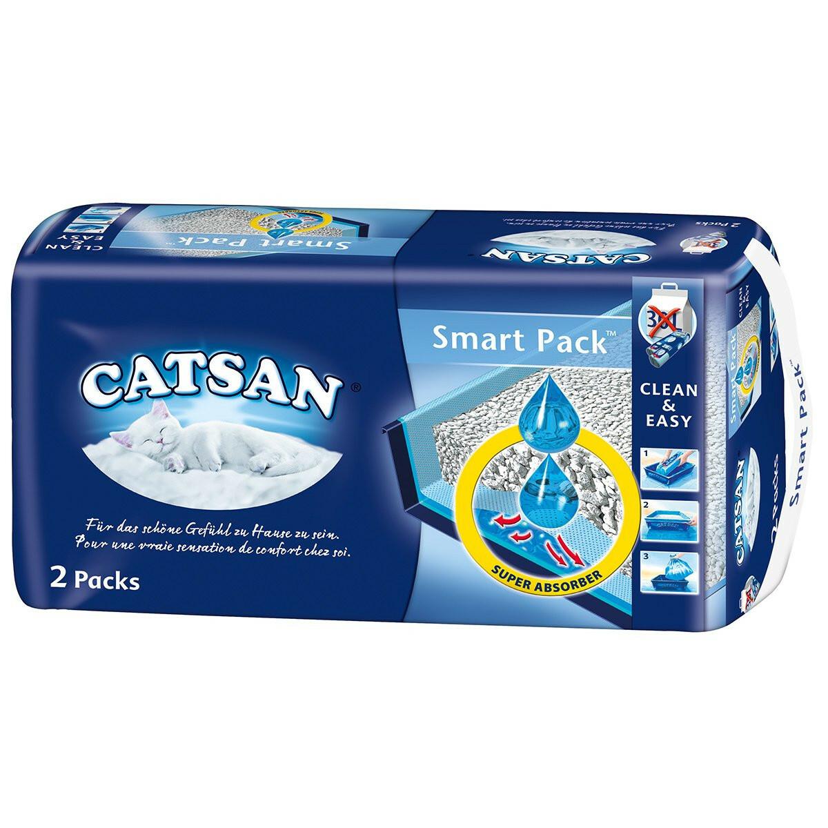 Bild 1 von Catsan Smart Pack - Einlegepack für die Katzentoilette