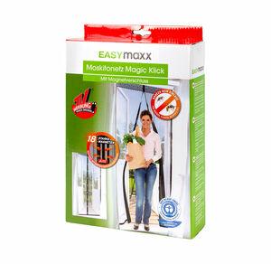 EASYmaxx Magic Klick-Moskitonetz mit Magnetverschluss, ca. 90x210cm