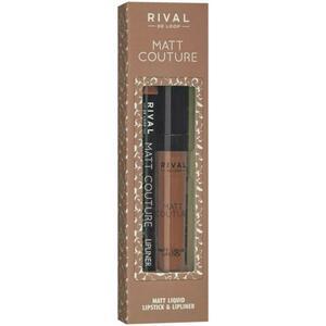 Rival de Loop Rival Matt Couture Lip Kit 03 Silk