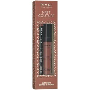 Rival de Loop Rival Matt Couture Lip Kit 01 Pleats