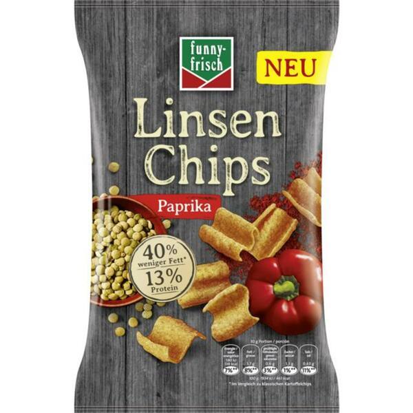 funny-frisch Linsen Chips Paprika 1.99 EUR/100 g