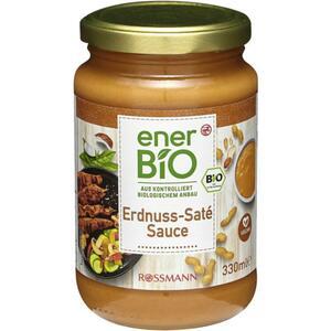 enerBiO Erdnuss-Saté Sauce 0.55 EUR/100 ml