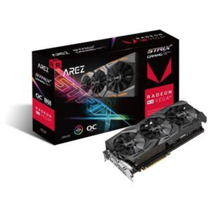 Asus AMD Radeon AREZ Strix RX Vega 56 OC Grafikkarte 8GB HBM2 2xHDMI/2xDP/DVI