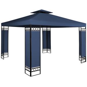 Deuba Pavillon Lorca - 3x3m - blau