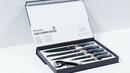 Bild 2 von KING Messerset Carbon Design 5 Messer im Set inkl. gratis Schäler