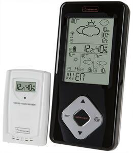 Digitale Funkwetterstation / Funkuhr mit 4-Tages-Wettervorhersage