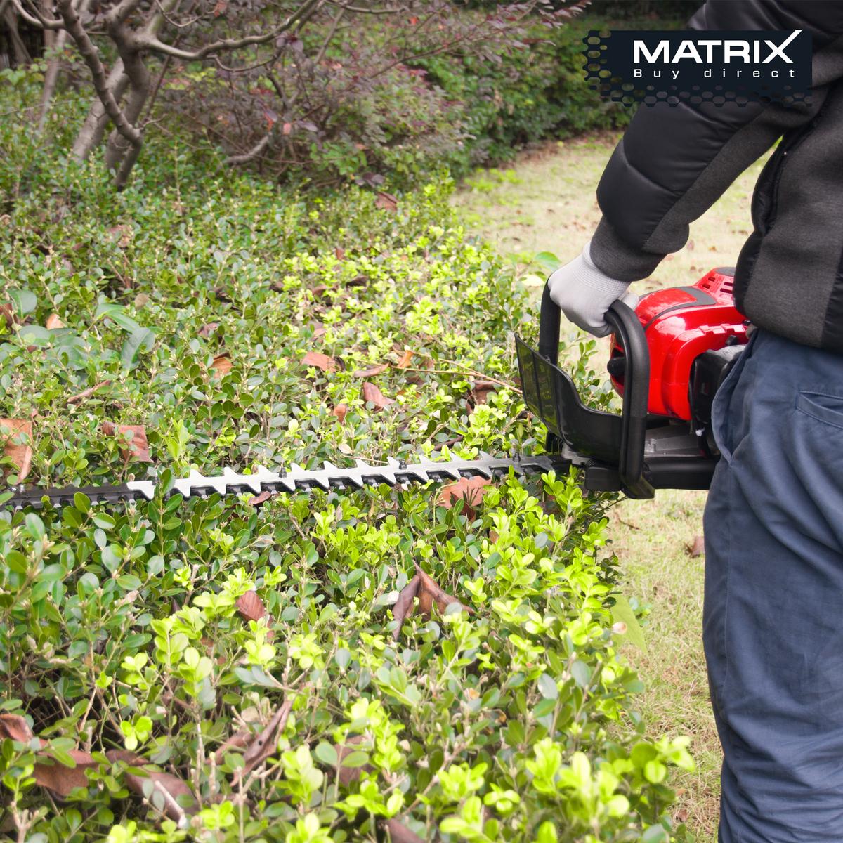 Bild 5 von Matrix Benzin Heckenschere PHT 26-750 26cc