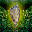"""Bild 1 von I-Glow LED Solar Metallgartensticks """"Jasmin"""""""