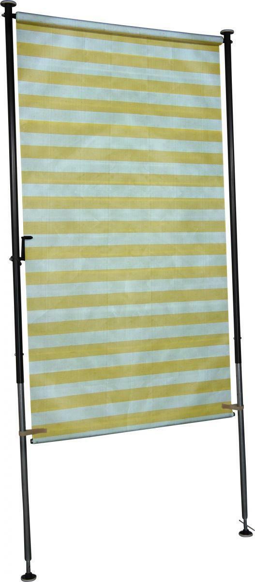 Bild 1 von Angerer Balkonsichtschutz gelb/weiß 150 cm