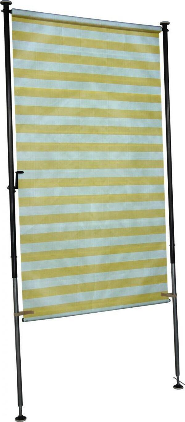Angerer Balkonsichtschutz gelb/weiß 150 cm