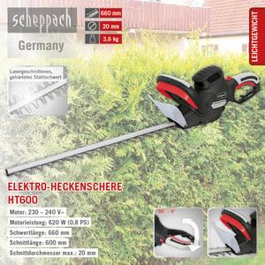 Scheppach Heckenschere HT600 230V/50Hz