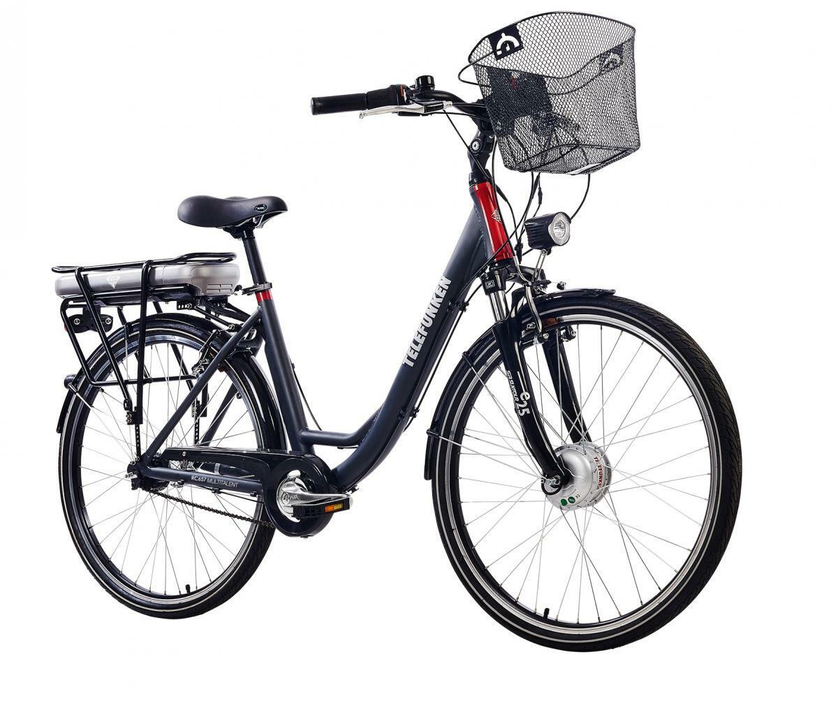 Bild 1 von Telefunken Damen City E-Bike RC657 Multitalent mit 7-Gang Shimano Nabenschaltung