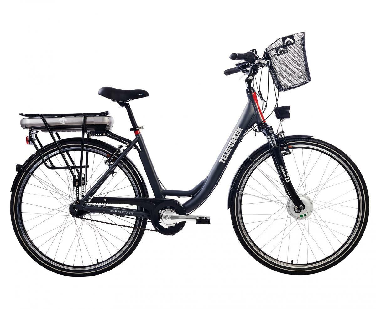 Bild 2 von Telefunken Damen City E-Bike RC657 Multitalent mit 7-Gang Shimano Nabenschaltung