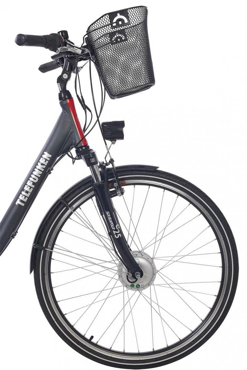 Bild 5 von Telefunken Damen City E-Bike RC657 Multitalent mit 7-Gang Shimano Nabenschaltung