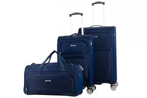 NOWI Trolleykoffer-Set Wien navy