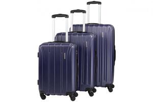 NOWI Trolleykoffer-Set Paris navy