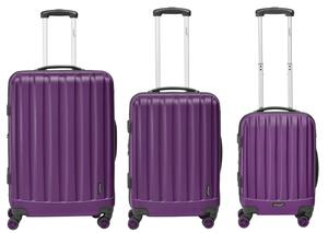 """Packenger 3er Koffer-Set """"Velvet"""" Hartschale (M, L & XL)"""