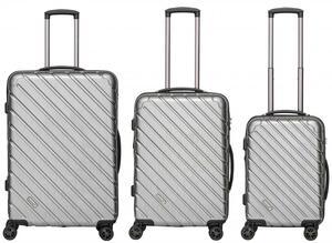 """Packenger 3er Koffer-Set """"Vertical"""" Hartschale (M, L & XL)"""