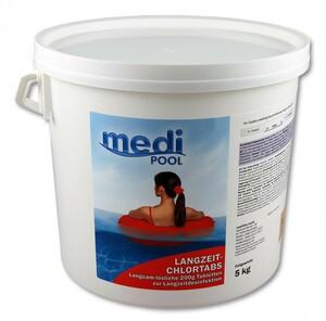 mediPOOL Langzeit-Chlor Tabs, 5kg