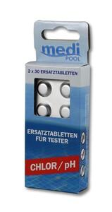mediPOOL Tabletten für Chlor- / pH-Tester