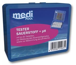 mediPOOL Sauerstoff-/pH-Tester