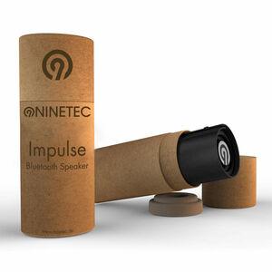 NINETEC Impulse Bluetooth Lautsprecher schwarz/silber