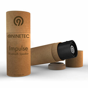 NINETEC Impulse Bluetooth Lautsprecher schwarz/schwarz