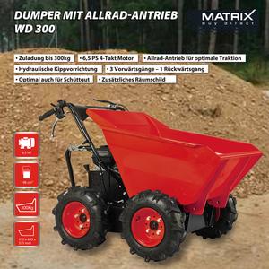 Matrix Dumper WD 300 inkl. Schneeschild