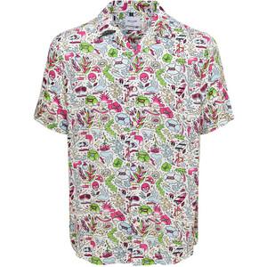 Herren Freizeithemd mit effektvollem Muster