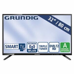 """32""""-LED-HD-TV 32 GHB 600 • Auflösung 1.366 x 768 Pixel • HbbTV • HDMI-/USB-/CI+-Anschluss • 2 x 16 Watt RMS • Stand-by: 0,43 Watt, Betrieb: 40,1 Watt • Maße: H 43,4 x B 73 x T 9,2 cm"""