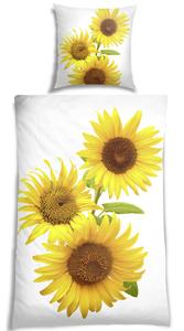 VS Home Renforcé-Bettwäsche 135 x 200 cm, Digitaldruck Sonnenblume