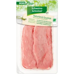 REWE Bio Schweine Schnitzel 500g