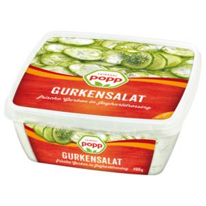 Popp Gurkensalat 400g