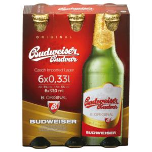 Budweiser Budvar Premium Lager 6x0,33l