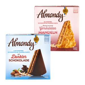 Almondy Schwedische Mandeltorte