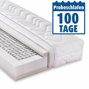Taschenfederkernmatratze ACCORD 1000 DELUXE - 90x200 cm - H3