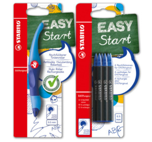 STABILO EASYoriginal ergonomischer Tintenroller oder EASYoriginal Refills