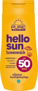 Pure & Basic Sonnenmilch LSF50 250ml