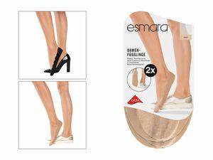 ESMARA® 2 Paar Füßlinge