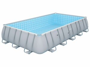 Bestway Power Steel™ Pool Set, rechteckig mit Stahlrahmen