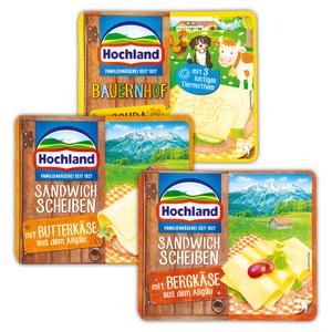 Hochland Sandwichscheiben aus dem Allgäu