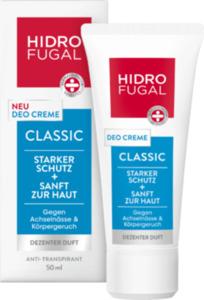 Hidrofugal Deo Creme Antitranspirant Classic