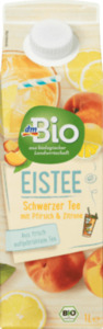 dmBio Eistee Pfirsich Zitrone