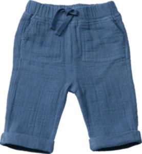 ALANA Baby-Hose, Gr. 68, in Bio-Baumwolle, blau, für Mädchen und Jungen