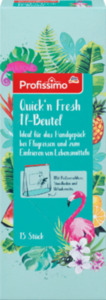 "Profissimo Quick´n Fresh Gefrierbeutel, 1 L, 15 St   ""Limited Design"""