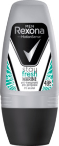 Rexona men Deo Roll On Antitranspirant stay fresh Marine